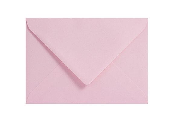 C6 Pale Pink Envelopes - Gummed - 120gsm - 2