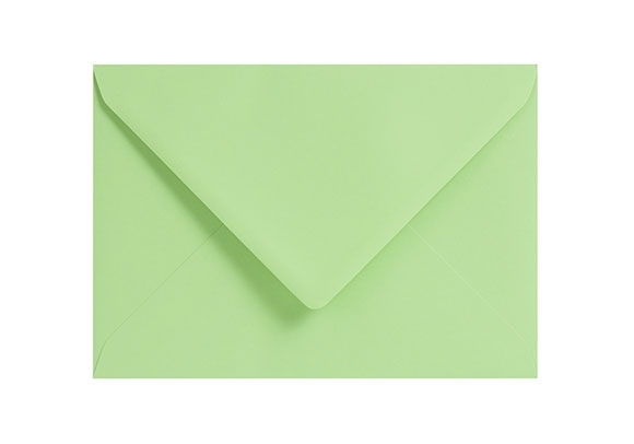 C6 Pale Green Envelopes - Gummed - 120gsm - 2