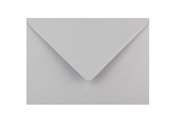 C6 Pale Grey Envelopes - Gummed - 120gsm - 2