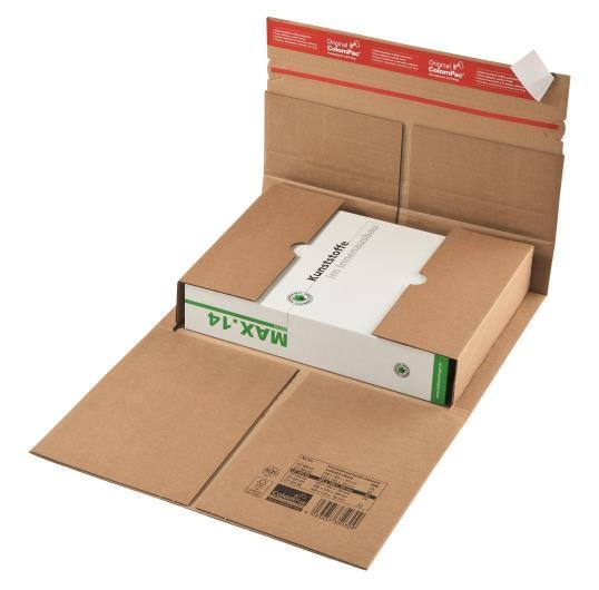 CP 035.01 ColomPac Reinforced Book Wrap - 230 x 165 x 70mm