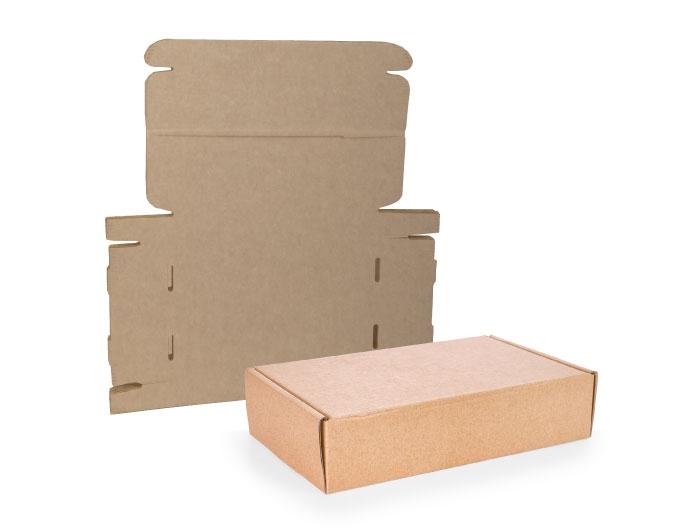 415 x 337 x 70mm Brown Postal Boxes - 5