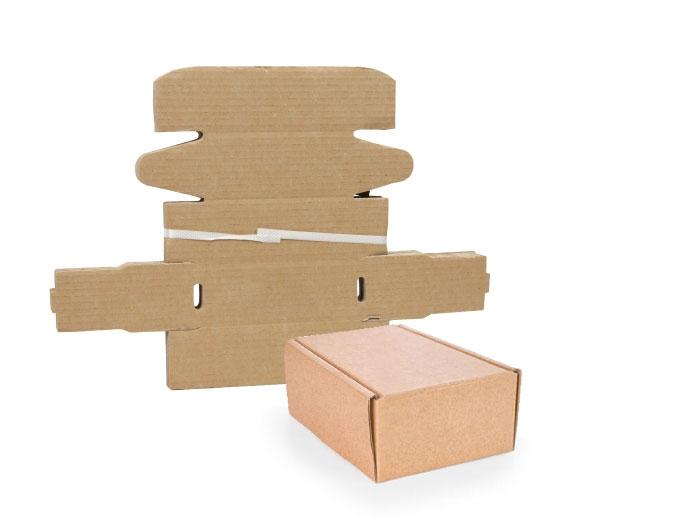 112 x 163 x 20mm Brown Postal Boxes - 5