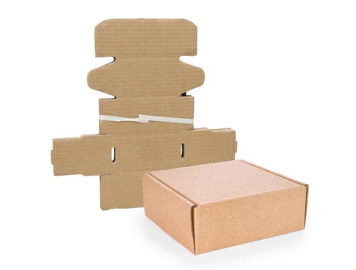 101 x 101 x 20mm Brown Postal Boxes - 5