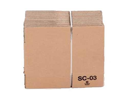 229 x 152 x 64mm Single Wall Cardboard Boxes - 2