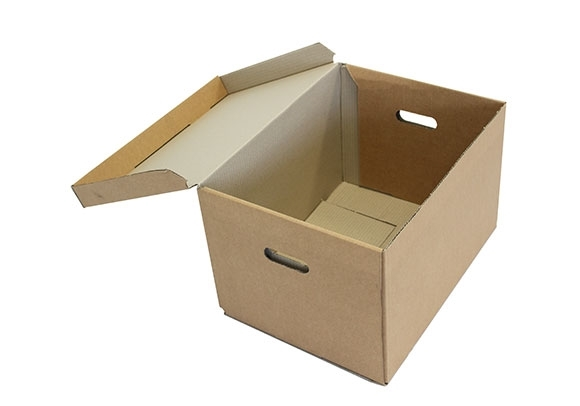 470 x 355 x 275mm Archive Boxes With Hinged Lid