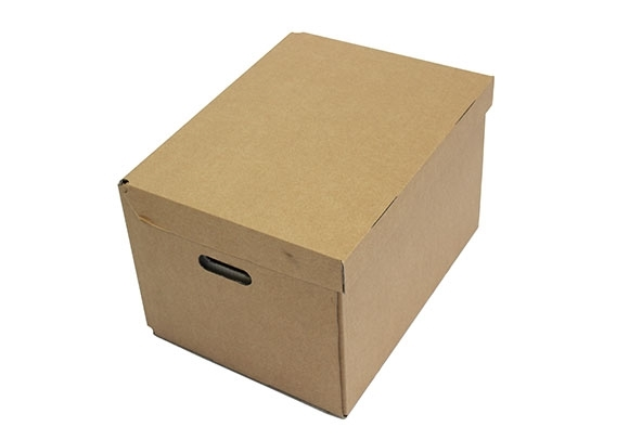 470 x 355 x 275mm Archive Boxes With Hinged Lid - 2