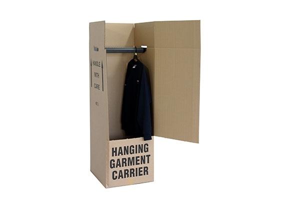 508 x 457 x 1220mm Wardrobe Box