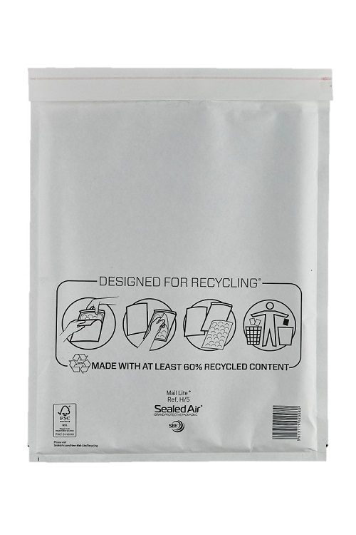 Sealed Air Mail Lite Bags H/5 - White