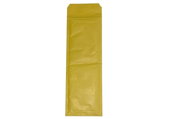 Number Plate Size Standard Bubble Lined Bags - Gold - 2