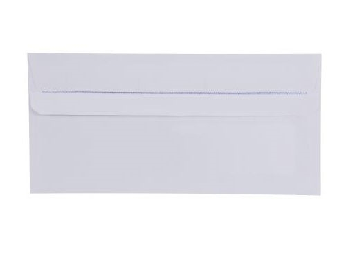 DL White Envelope With Window - Self Seal - Wallet - 90gsm - 3
