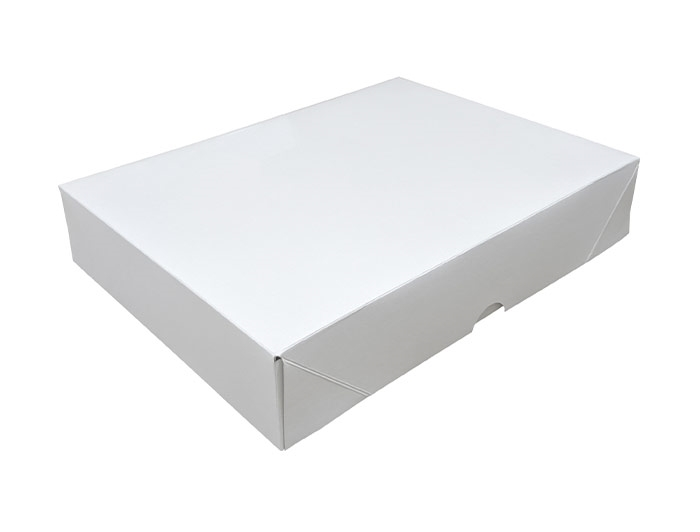 A4 White Stationery Box & Lid