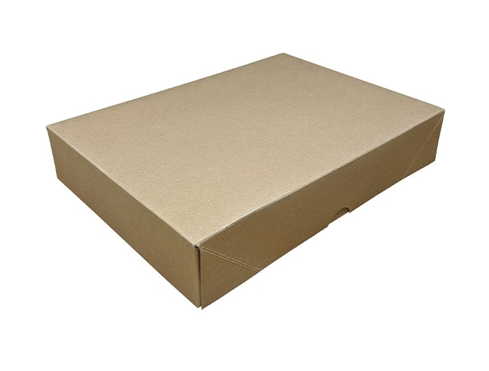A4 Brown Stationery Box & Lid