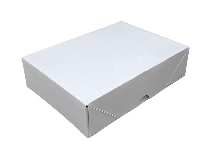 A5 White Stationery Box & Lid