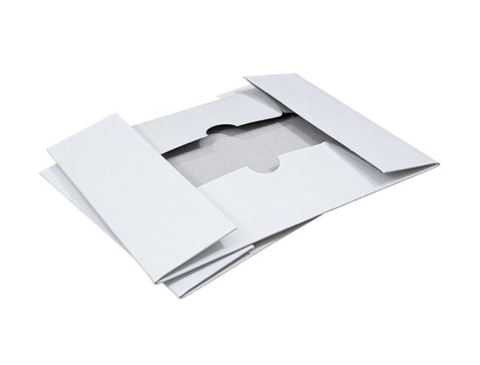 A5 White Stationery Box & Lid - 2
