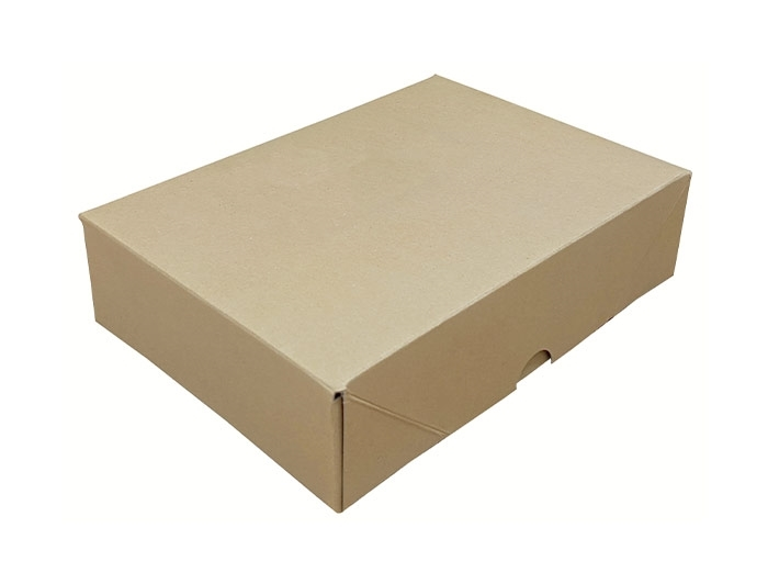 A5 Brown Stationery Box & Lid