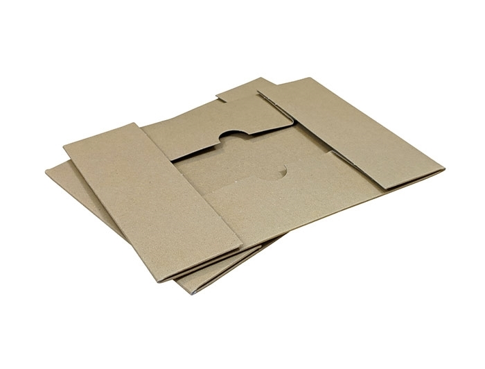 A5 Brown Stationery Box & Lid - 2