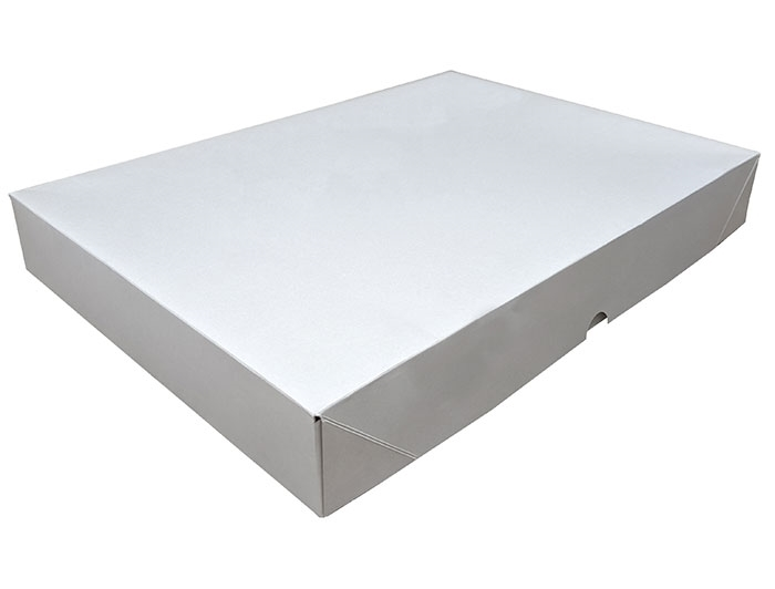 A3 White Stationery Box & Lid