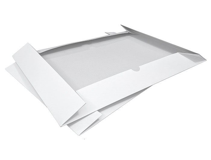 A3 White Stationery Box & Lid - 2