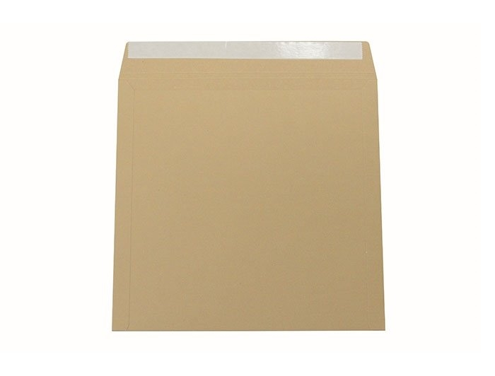 344 x 344mm All Board Envelopes - Brown