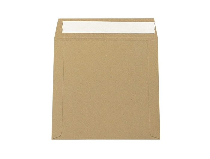 202 x 202mm All Board Envelopes - Brown
