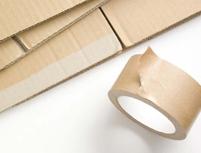 75mm x 50m Eco-Friendly Self Adhesive Paper Tape - 2