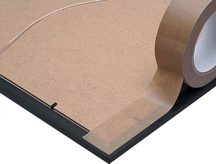 75mm x 50m Eco-Friendly Self Adhesive Paper Tape - 3