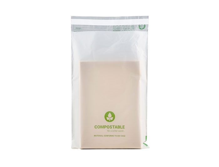 Compostable Mailing Bags - 170 x 250mm - 2