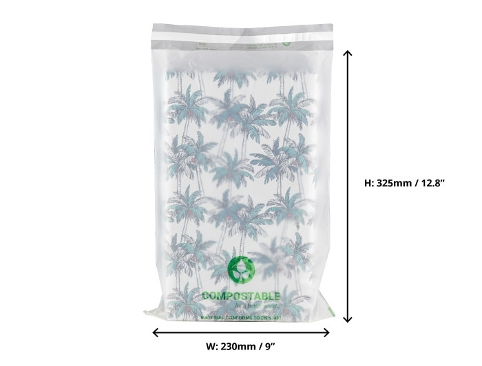 C4 Compostable Mailing Bags - 230 x 325mm