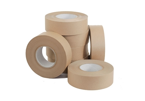 48mm x 100m Brown Reinforced Water Activated Tape - 125gsm