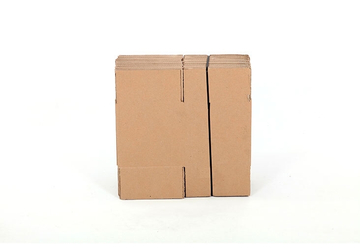 254 x 254 x 254mm Single Wall Cardboard Boxes - 2