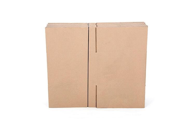 356 x 356 x 356mm Single Wall Cardboard Boxes - 2