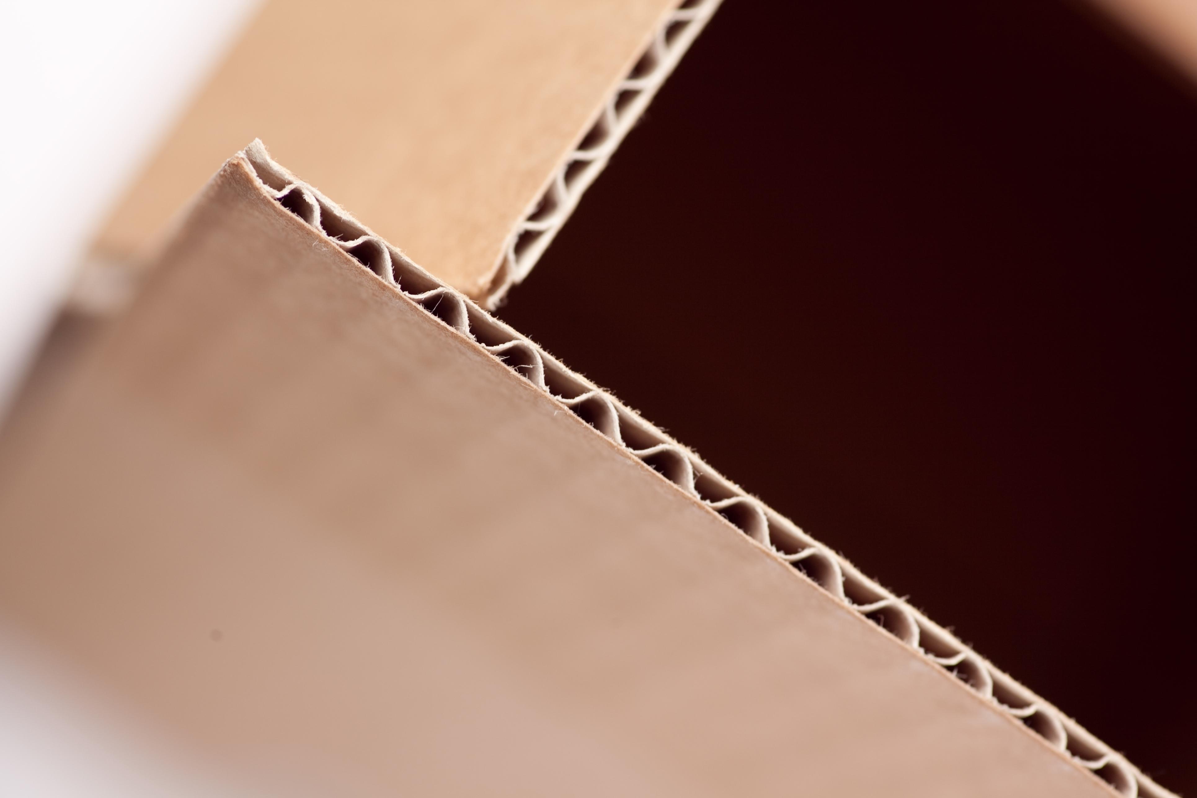 356 x 356 x 356mm Single Wall Cardboard Boxes - 4