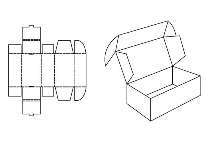 120 x 100 x 80 White Postal Boxes - 2