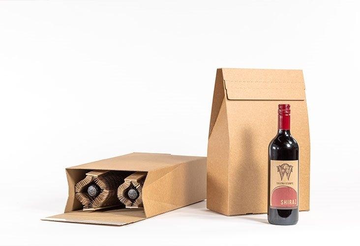 Office Supplies Flexi-Hex Double Bottle Pinch Top Box Kit - 25 Boxes