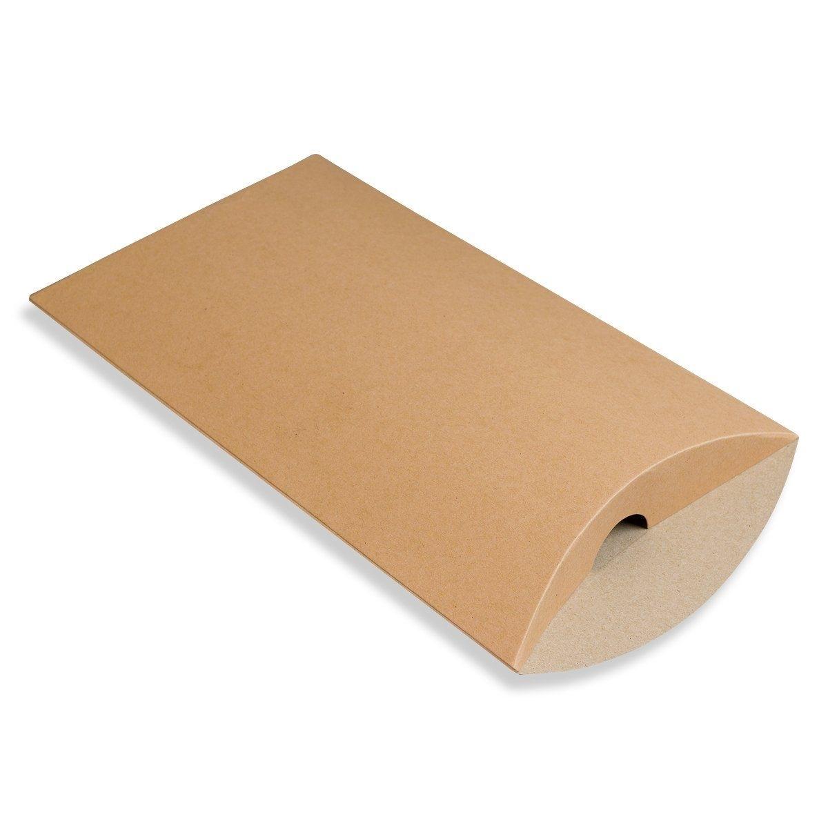 162 x 114 x 35mm Kraft Pillow Boxes - 2