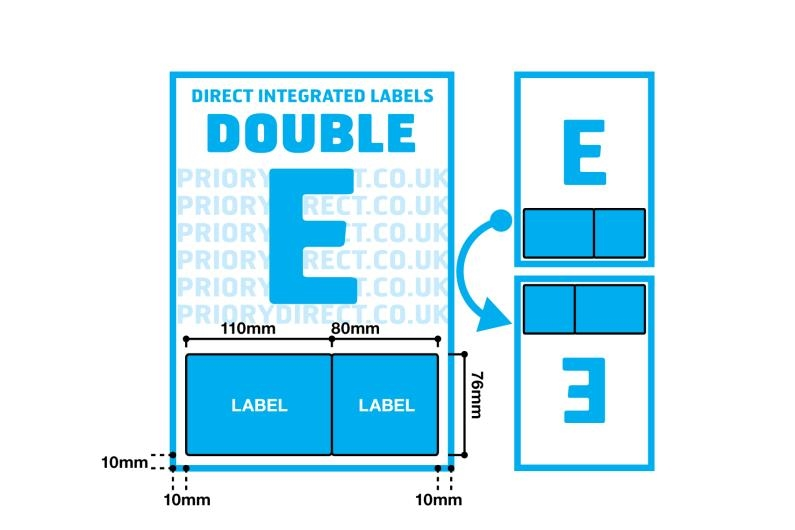 Double Integrated Label - Style E