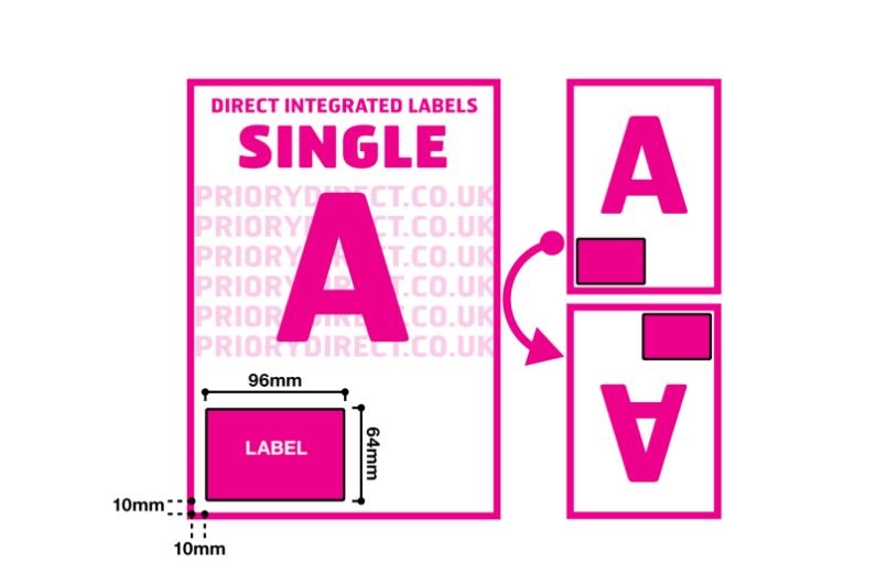 Single Integrated Label - Style A