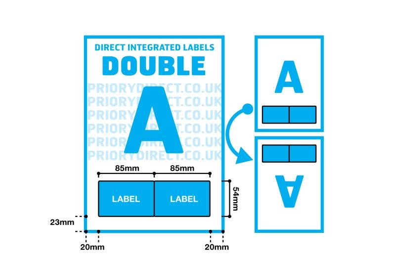 Double Integrated Label - Style A