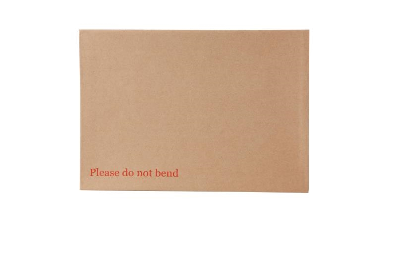 A4 Board Backed Envelopes - Manilla Printed