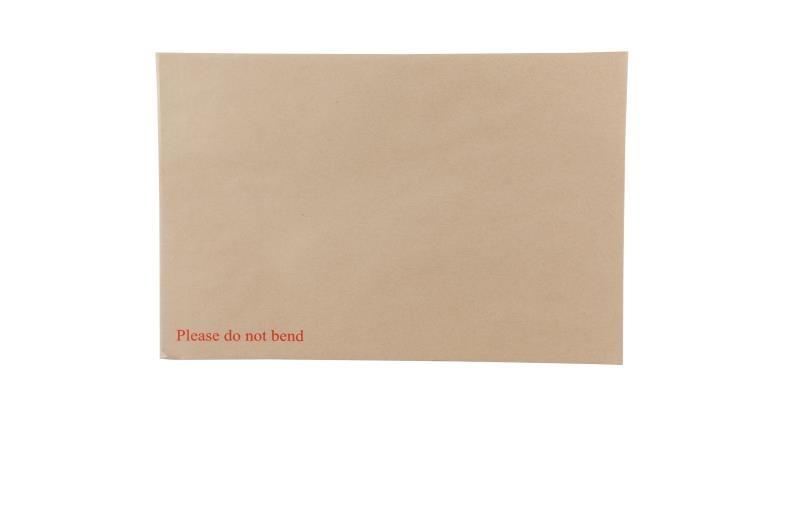 A3 Board Backed Envelopes - Manilla Printed