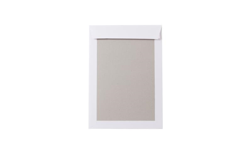 A4 Board Backed Envelopes - White - 3