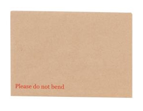A6 Board Backed Envelopes - Manilla Printed