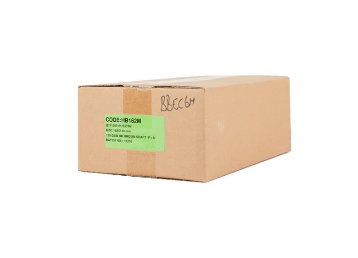 A6 Board Backed Envelopes - Manilla Printed - 2