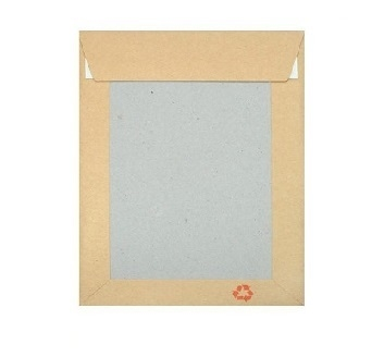 A6 Board Backed Envelopes - Manilla Printed - 3
