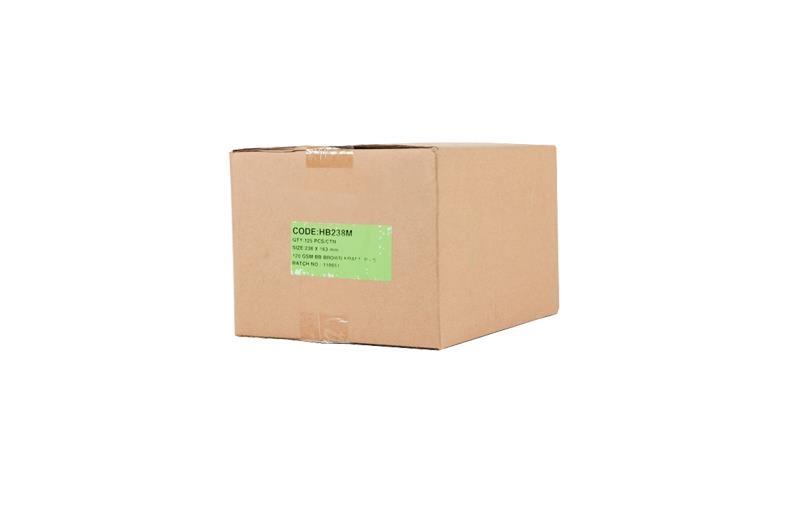 163 x 238mm Board Backed Envelopes - Manilla Printed - 2