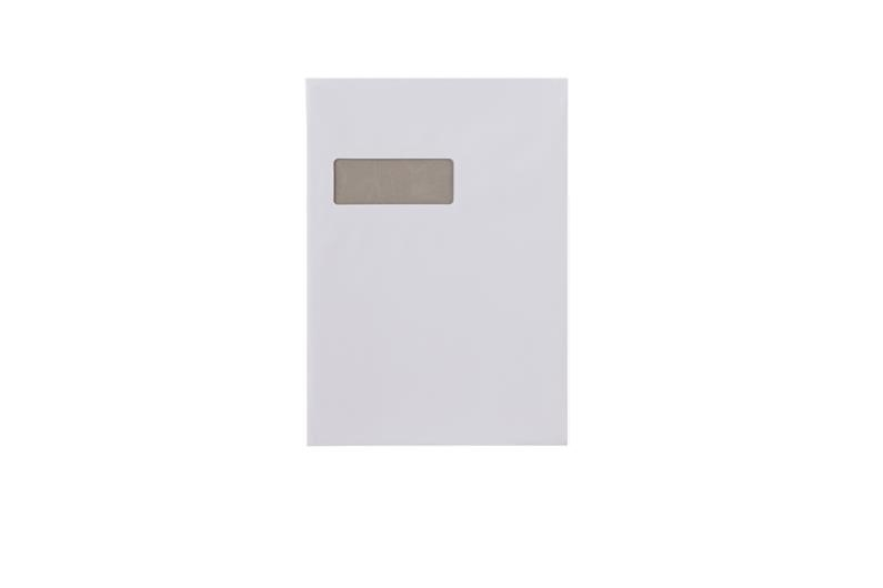A4 Board Backed Envelopes With Window - White