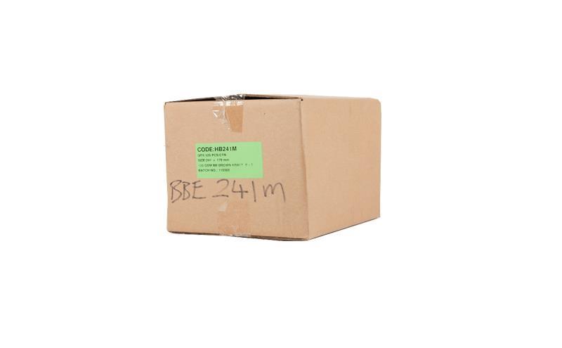 178 x 241mm Board Backed Envelopes - Manilla Printed - 2