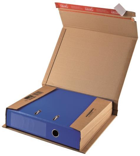 CP 050.01 - ColomPac Book Wraps - 320 x 290 x 35-80mm
