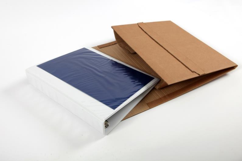 CP 050.01 - ColomPac Book Wraps - 320 x 290 x 35-80mm - 4