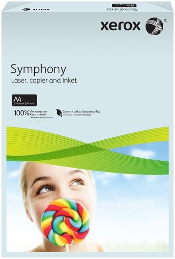 Xerox Symphony Paper - A4 Blue Pastel Tint 80gsm - 2